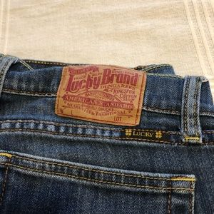 Lucky Brand button fly jeans